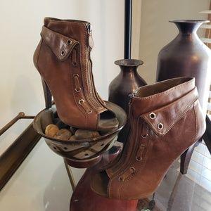 Gianni Bini Open Toe Boots